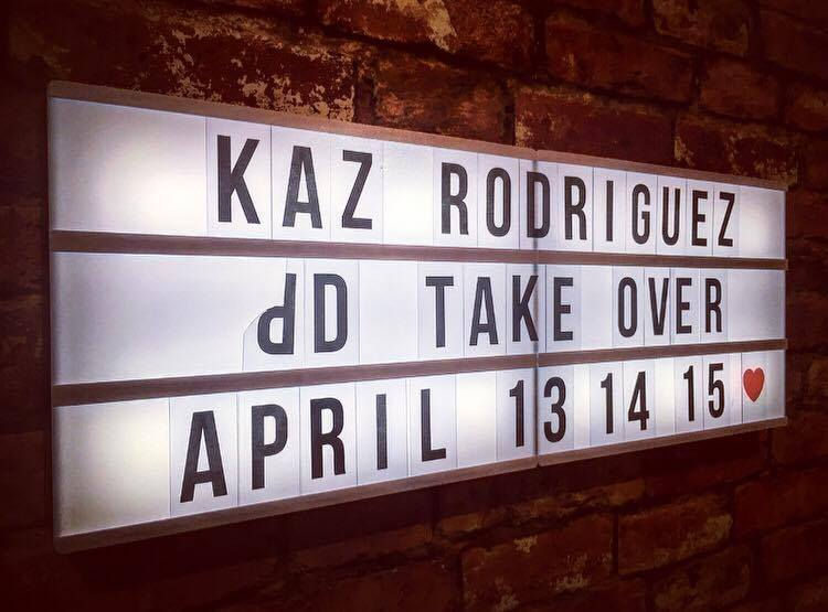 Kaz Rodriguez at dD Drums!