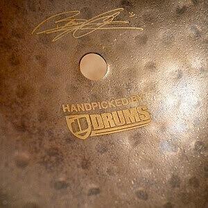 """MEINL Byzance Vintage 18"""" Sand Thin Crash - Handpicked by dD Drums"""