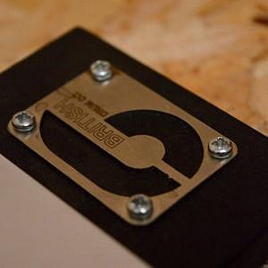 "British Drum Company 5"" Pocket Practice Pad"