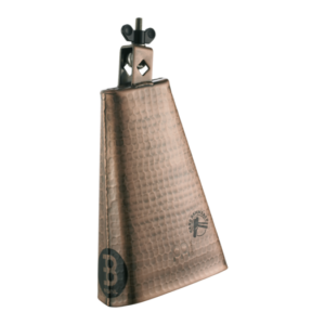 """MEINL 8"""" Hammered Hand Brushed Copper Cowbell"""