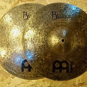 """MEINL Byzance Dark 15"""" Hi-Hats - Handpicked by dD Drums"""
