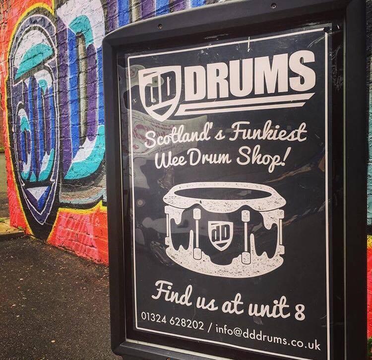 dD Drums, Falkirk
