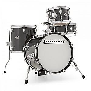 Ludwig Breakbeats Kit by ?uestlove - Black Sparkle