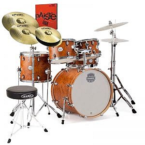 Mapex Storm 22'' Kit Camphor Wood Grain & Hardware (+ Throne & Cymbal Pack Option)