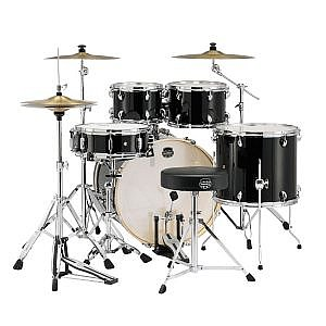 Mapex Storm 22'' Kit Black & Hardware (+Throne & Cymbal Pack Option)