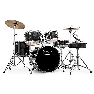 "Mapex Tornado Kit (18"" Kick) Black (+Lessons Option)"