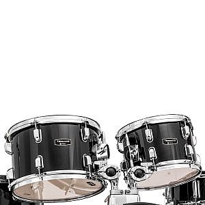 "Mapex Tornado Kit (22"" Kick) Black (+Lessons Option)"