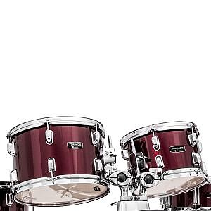"Mapex Tornado Kit (18"" Kick) Burgundy (+Lessons Option)"